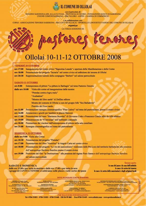 Pastores e Tenores 2008